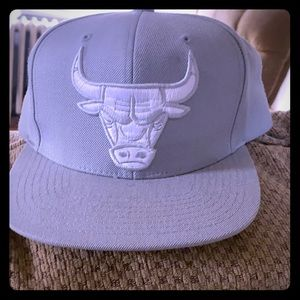 Grey and white Bulls snap back